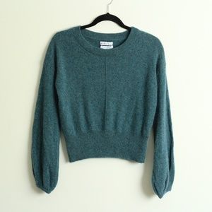 London Kaye Teal Cashmere Sweater Size Large